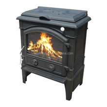 New Arrival Country Style 14kw cast iron multi fuel stove with cooking top