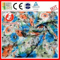 various pattern wool/silk blend fabric made in china