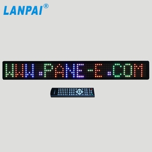 factory high quality programmable bus led display screen for advertising