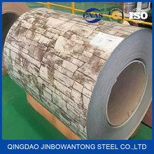 Printed prepainted Color Coated Galvanized Steel Coil ppgi