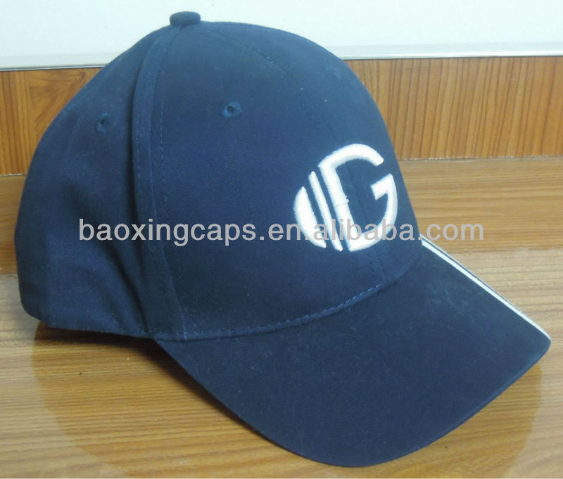 microsanded cotton twill embroidered baseball cap