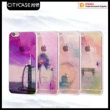city&case colorful phone cover for iPhone5 6 6s plus