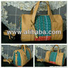 Ethnic Ulos Leather Bag