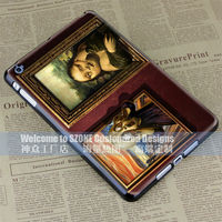 Mona Lisa and Scream hard case cover for apple ipad mini