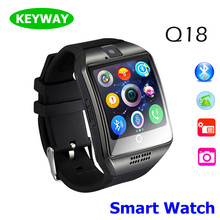 China Manufacturer Selling Smart Watch Q18 Support Sim Card Slot Connecter Android Wear Fitness Sleep Tracker Q18 Smartwatch