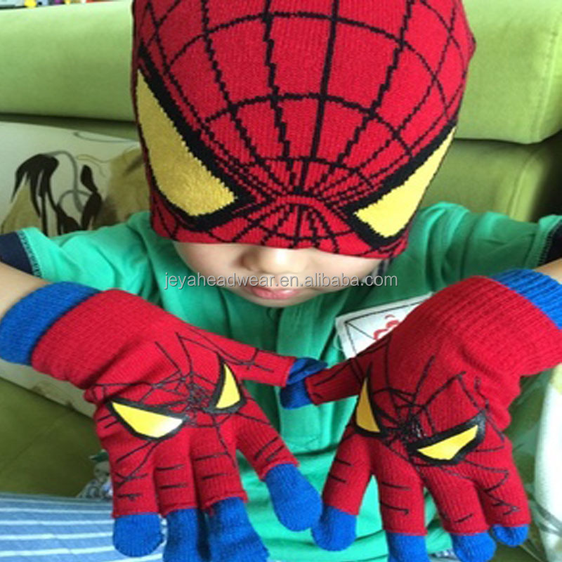 Best things to sell children spiderman knitted hat interesting products from china