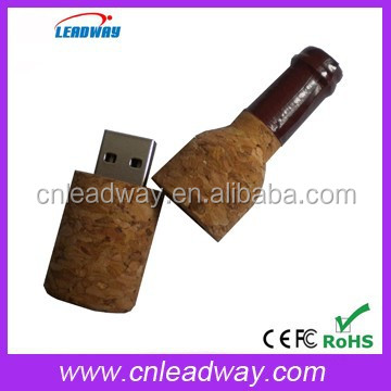 wine jump drive bulk cheap recyclable usb flash drive 1gb 2gb 4gb 8gb