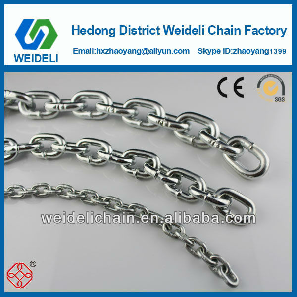 galvanized DIN 5685A used anchor chain