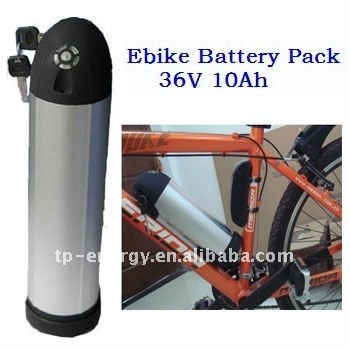 high power LFP e-bike battery pack 36v 10ah China supplier(2 years warranty)