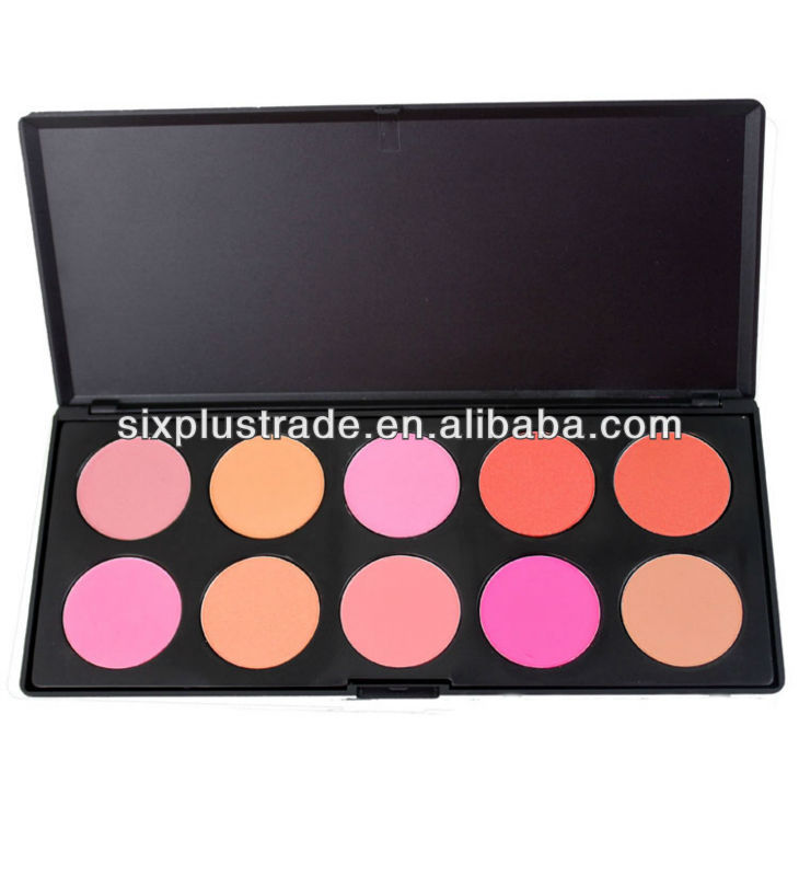 2013 most popular cosmetics makeup eyeshadow & blush palette