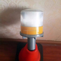 Traffic Roadsafety blinking led solar lights for cone