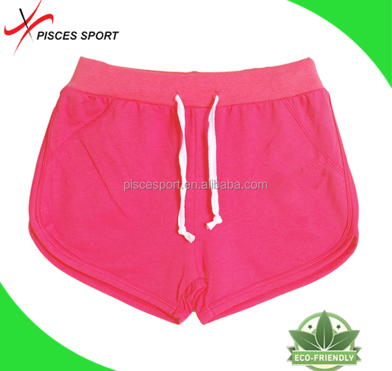 wholesale cotton breathable carton running shorts seersucker shorts in stock