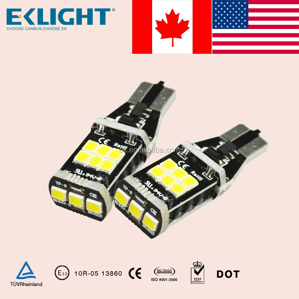 Waterproof high power car led lights wholesale,Canbus T10 t20 w21/5w 7443 led car led light,led car light/t10 led bulb