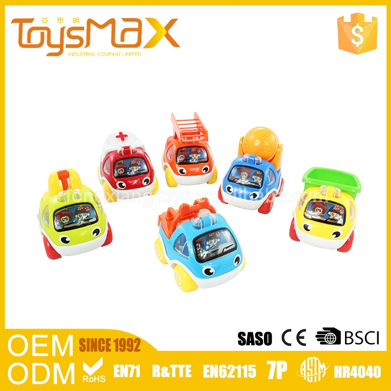 Best Promotion Toys Cheap Pull Back Mini Tractor Car Toys For Sale