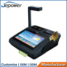MSR,NFC,IC card reader Cash Bills Payment Pos Terminal All In One
