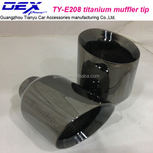 autol accessoriesuniversal titanium exhaust tips