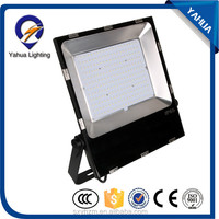 Free sample Factory price aluminum Bridgelux chip dimmable 200 smd led flood light with ce rohs listed