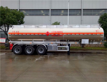 38000 liters aluminum alloy tank oil truck and semi-trailers truck