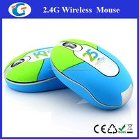 Mini 2.4G wireless computer mouse for travelling