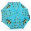 Quality umbrellas lovely creative cartoon semi-automatic diffuse male and female kid umbrella specials