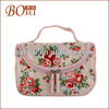 Special clear cosmetic bag with handle men's toilet bag