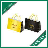WHOLESALE LARGE SIZE PAPER BAG FOR PACKING SUITS WITH CUSTOM LOGO AND PRINT