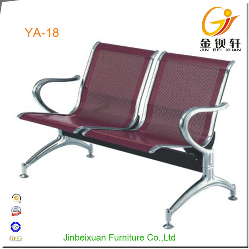 Foshan manufacturer double seat medical office waiting room chair
