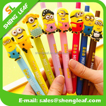 Flexible with different cute animal rubber ballpoint pen