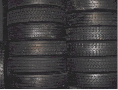 Major NA Brand Used Tires