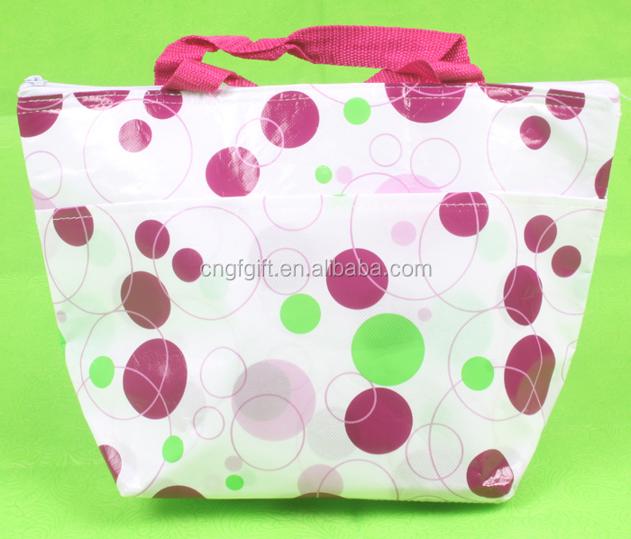 insulated freezer shopping tote bag non woven cooler bag