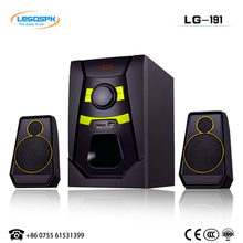 Able to bear or endure look of 2.1 speakers with usb sd fm remote