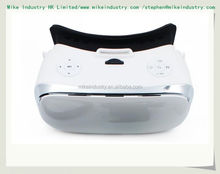 Update VR Box 2.0 VRBOX Pro ii Leather 3D Glasses Virtual Reality Headset 360 Viewing Helmet Video for4-6' Mobile