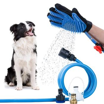 Pet Washing Grooming Tools Dog Cat Massage Shower Sprayer Hair Remover Brush Glove,silicone Pet Bath Grooming Glove