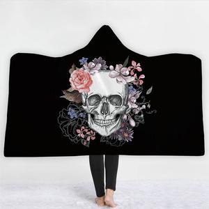 the very special winter Cloak Hooded Printed Blanket
