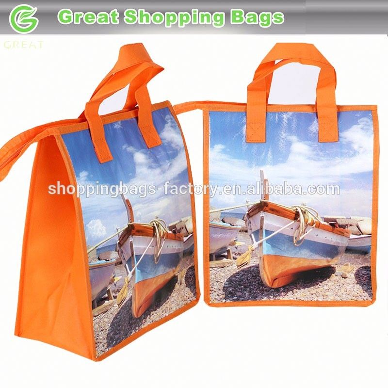Boat decorative lunch bags