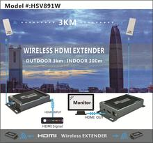 portable HD HDMI wireless 150m video transmitter receiver indoor