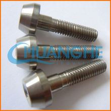 Fasteners Cheap hot sell gr1 din7991 titanium bolts m1