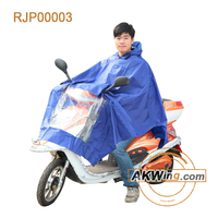 Wholesale Fashion Professional Adult Blue Raincoat For Motorcycle Riders