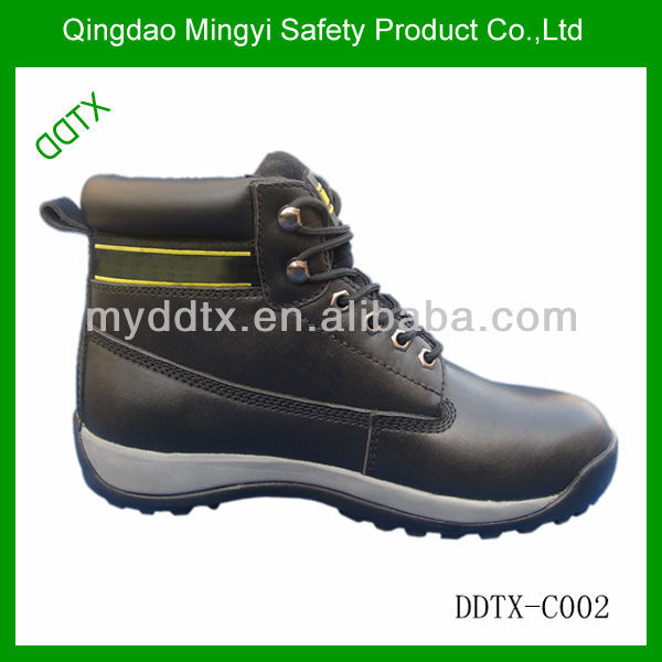 DDTX high quality rubber / EVA outsole steel plate steel toecap fancy safety shoe
