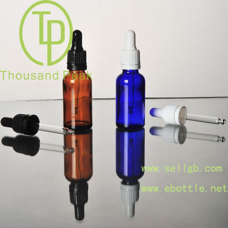 factory wholesale e-liquid frosted matte clear green blue amber 15ml mini liquor vials with pipettes