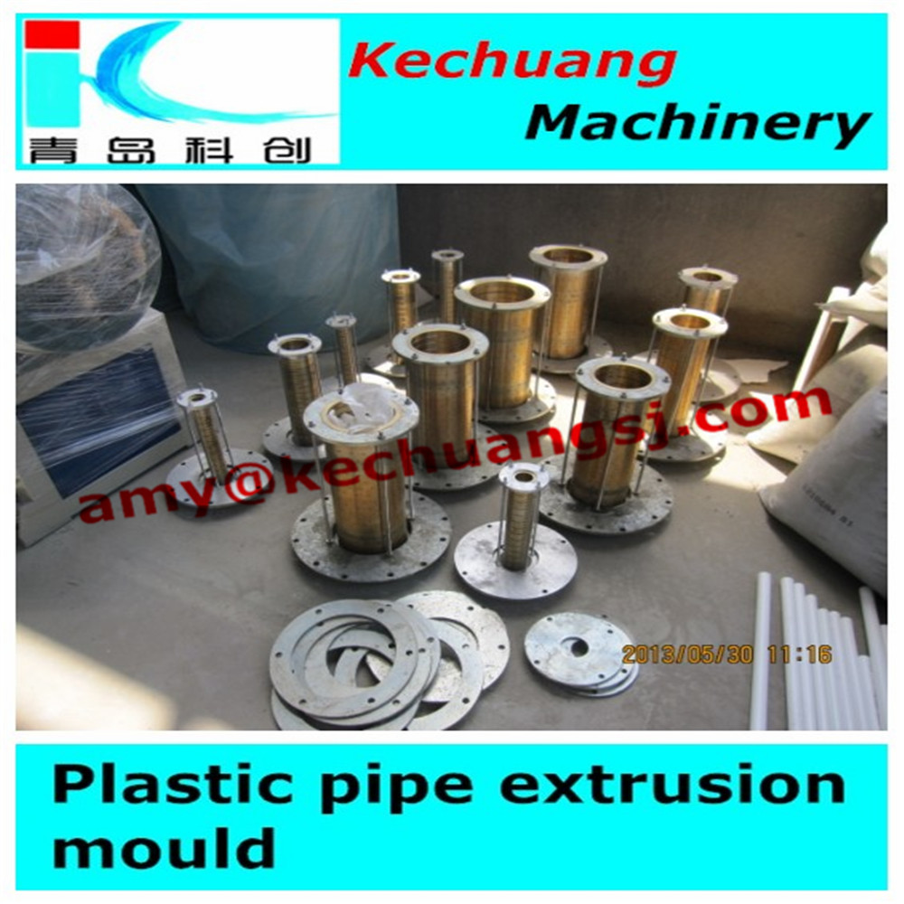 Calibration sleeves for pipe extrusion mould