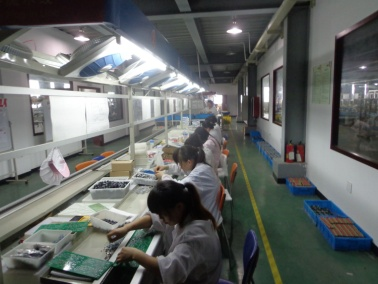 PCB assembly line