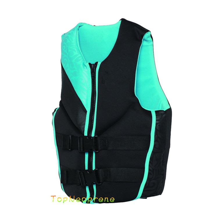 Factory Direct Sales Neoprene+EPE Foam Floating Life Jacket