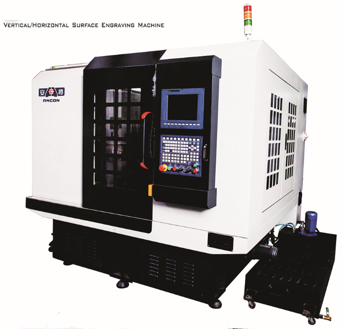 CNC metal engraving and milling machine for surface carving