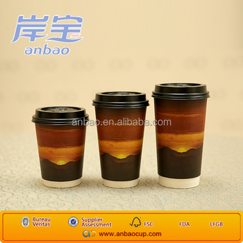 Various kinds of disposable-paper-coffee-cup double wall paper cups wholesale