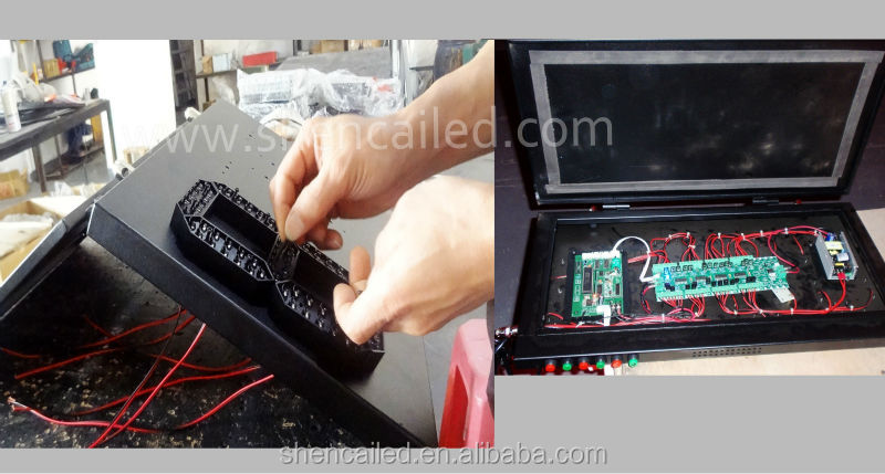15inch large led temperature displays \ low temperature led display