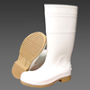 White Pvc Working Gumboots Safety Boots