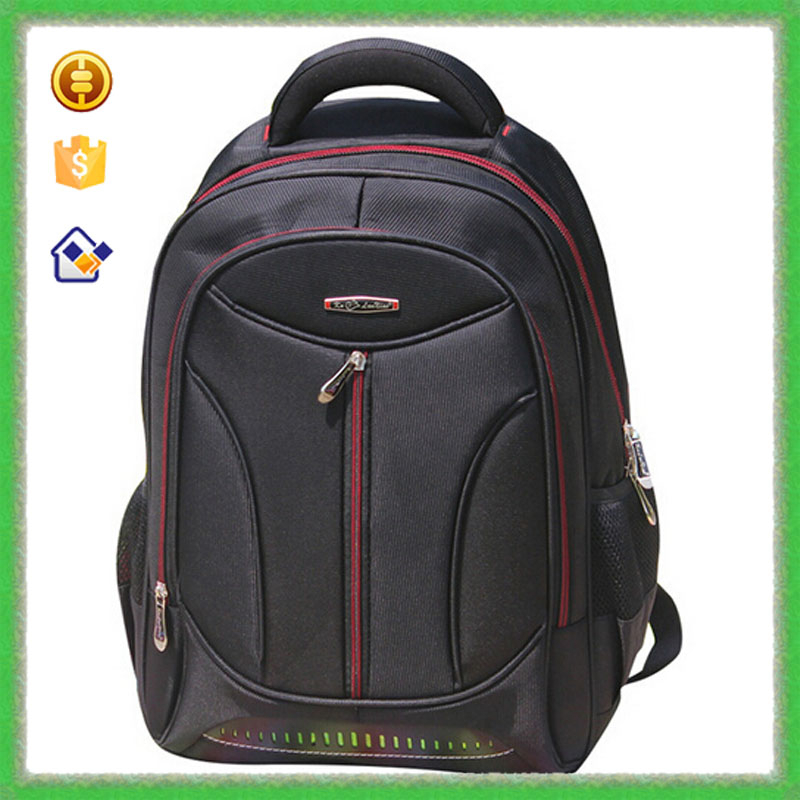 "YTF-P-DNB118 Custom 15.6"" Two Shoulder Strip Notebook Bag Outdoor Backpack Laptop"