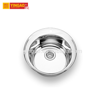 Restaurant Commercial undermont topmount stainless steel kitchen sink