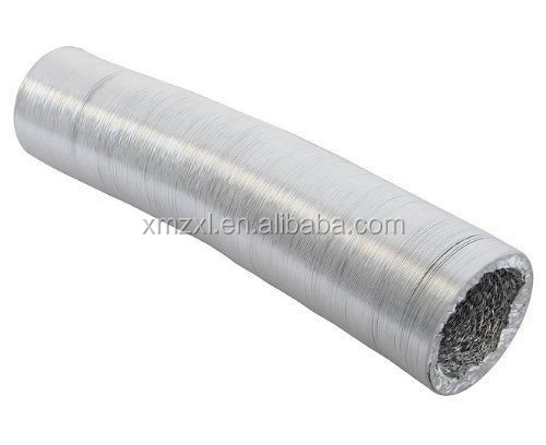 Fire resistant aluminum flexible duct